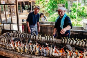 grilled Japanese fish