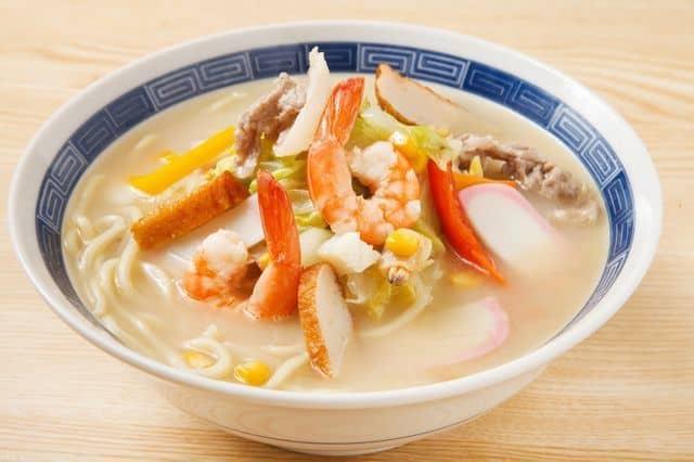 bowl Champon Japanese soup