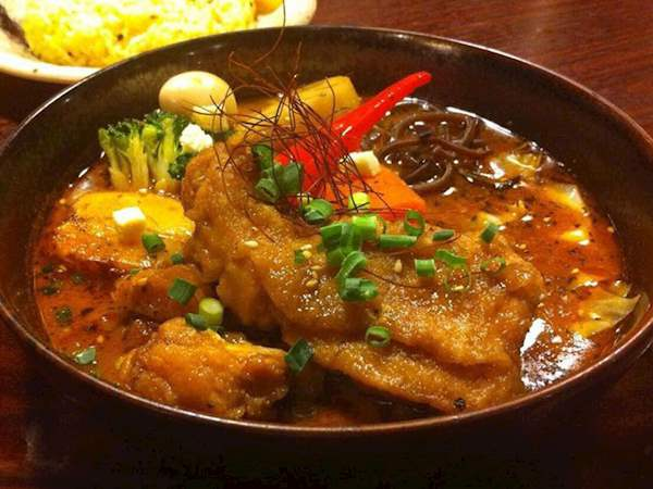 Sūpu karē Japanese curry soup