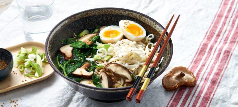 miso ramen Japenese soup