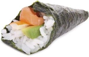 temaki-sushi-cone-shape-roll