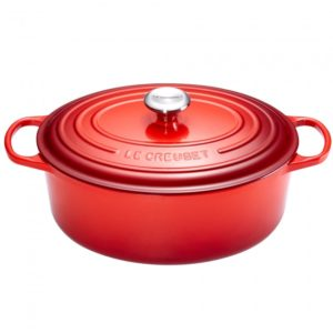 Oval Dutch Oven red