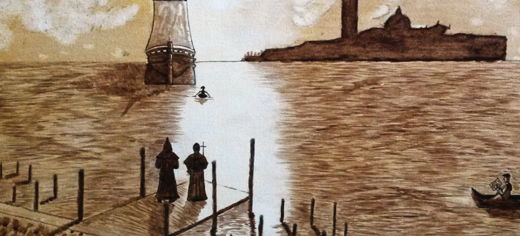 coffe comes to Europe by boat in 1615