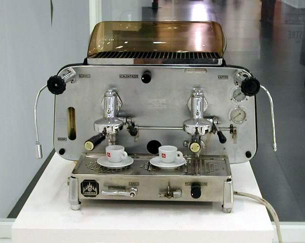 espresso machine made by Faema famous E61