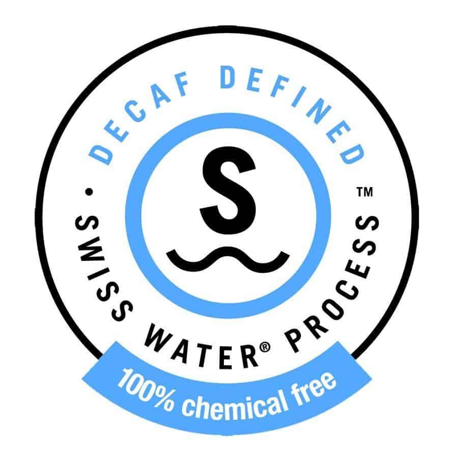 decaf swiss water process logo