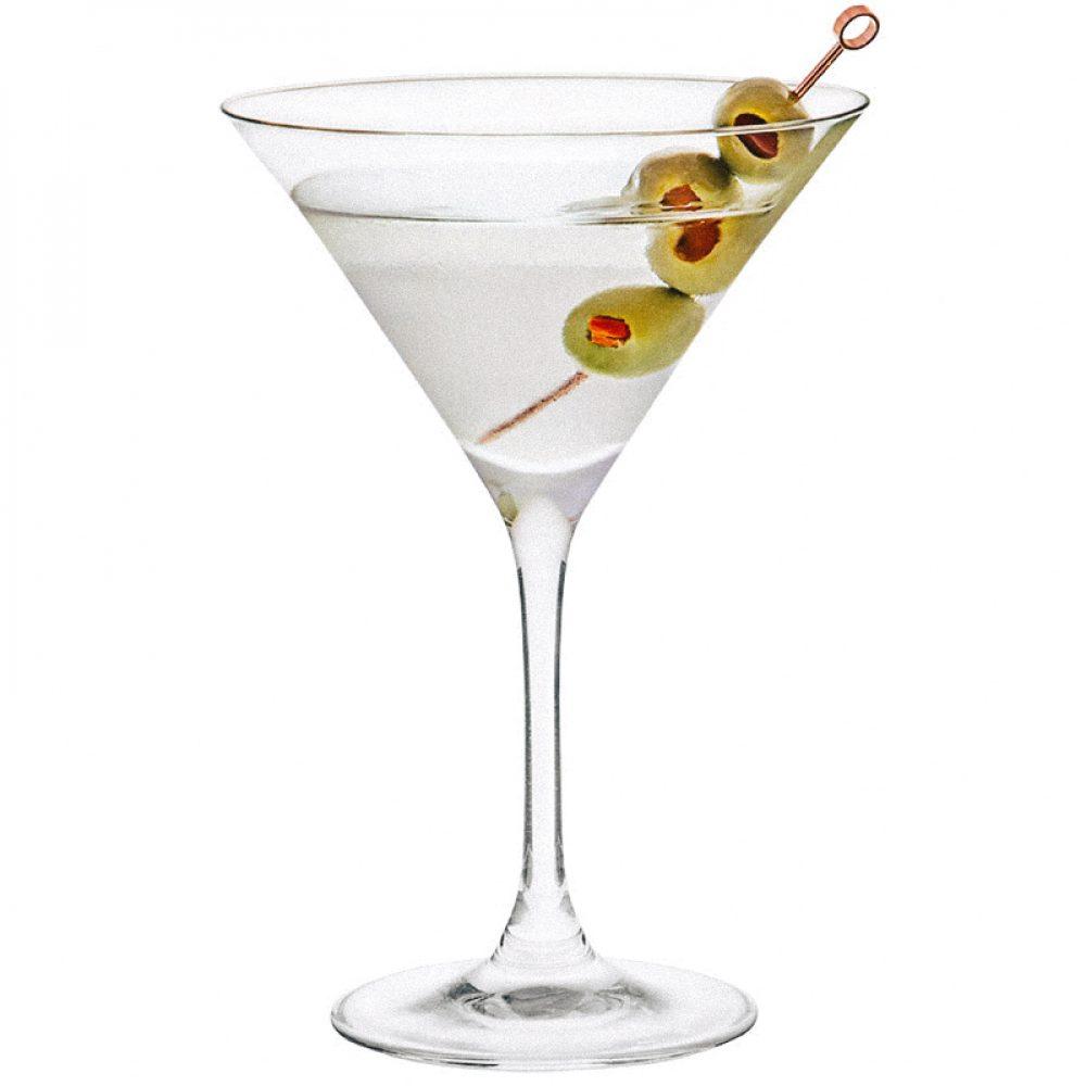 Vodka martini cocktail